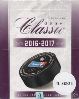 2016-17 OFS Classic Series 2 Hockey Collector´s Case