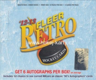 2012-13 UD Fleer Retro Hockey Master Hobby Box