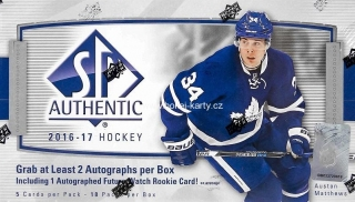 2016-17 UD SP Authentic Hockey Hobby Box