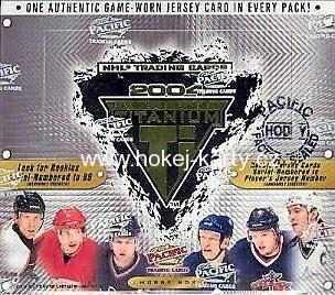 2003-04 Pacific Private Stock Titanium Hockey Hobby Box