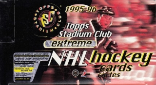 1995-96 Topps Stadium Club Extreme Hockey Retail Box