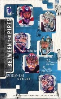 2002-03 ITG Between the Pipes Hockey HOBBY Box