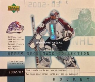 2002-03 UD Mask Collection Hockey HOBBY Box