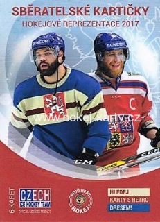 2016-17 Czech Ice Hockey Team Hockey Hobby Balíček
