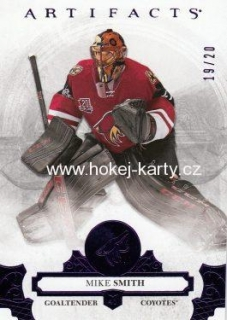 paralel karta MIKE SMITH 17-18 Artifacts Purple /20