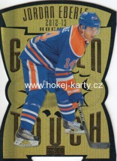 insert karta JORDAN EBERLE 12-13 Fleer Retro Golden Touch číslo 10 of 25GT
