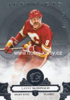insert karta LANNY McDONALD 17-18 Artifacts Legends /599