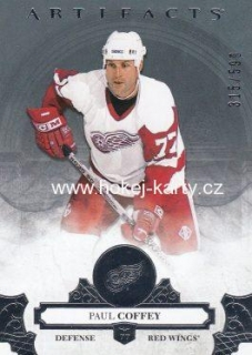 insert karta PAUL COFFEY 17-18 Artifacts Legends /599