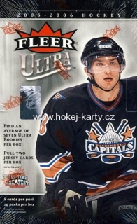 2005-06 UD Fleer Ultra Hockey Blaster Box