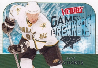 insert karta BRAD RICHARDS 09-10 Victory Game Breakers číslo GB5