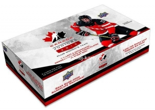 2015-16 UD Canada Juniors Hockey Hobby Box
