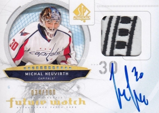 AUTO patch RC karta MICHAL NEUVIRTH 09-10 SP Authentic Future Watch /100