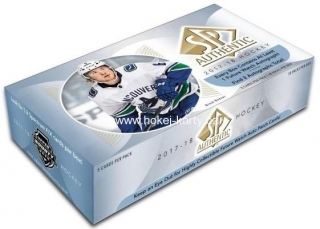 2017-18 UD SP Authentic Hockey Hobby Box
