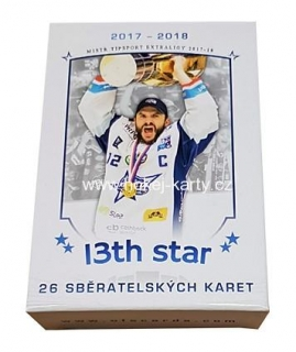 2017-18 OFS Kometa Brno 13th Star Hockey Box
