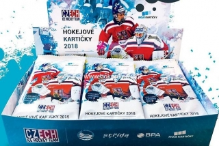 2017-18 Czech Ice Hockey Team Hockey Retail Box