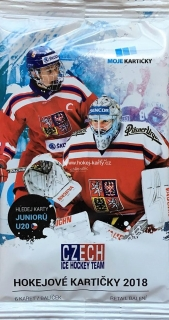 2017-18 Czech Ice Hockey Team Hockey Retail Balíček
