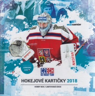 2017-18 Czech Ice Hockey Team Hockey Hobby Box