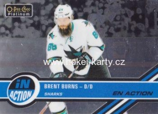 insert karta BRENT BURNS 17-18 OPC Platinum In Action číslo IA-11