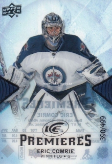 insert RC karta ERIC COMRIE 17-18 UD Ice Premieres /499