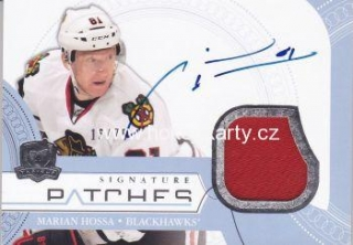 AUTO patch karta MARIAN HOSSA 11-12 UD The CUP Signature Patches /75