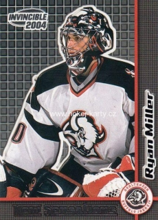 insert RC karta RYAN MILLER 03-04 Invincible New Sensations číslo 5