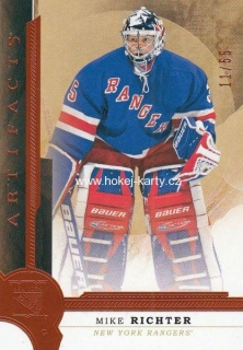 insert karta MIKE RICHTER 16-17 Artifacts Orange /55