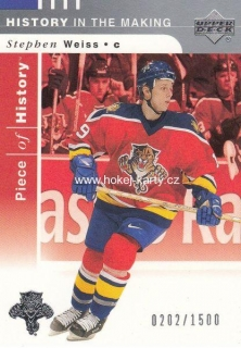 insert karta STEPHEN WEISS 02-03 Piece of History History in the Making /1500
