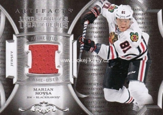 jersey karta MARIAN HOSSA 15-16 Artifacts Lord Stanley´s Legacy Relics