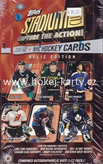 2001-02 Topps Stadium Club Hockey Relic Edition Box